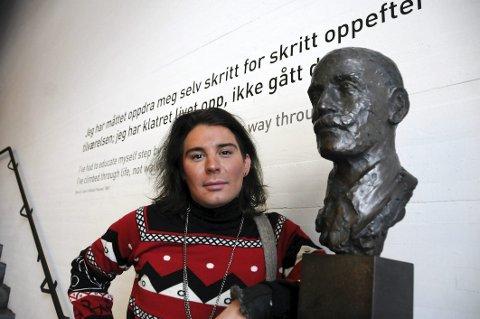 Stor hjelp: Erlend Elias Bragstad fra Tysfjord og flere andre unge menn har vært åpne om sin angst og sine lidelser, og det er til stor hjelp for andre. Illustrasjonsfoto
