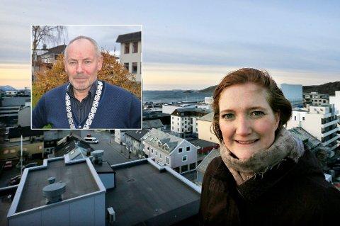 LEDERE: Ida Pinnerød ble valgt til leder av Salten regionråd, mens Rune Berg ble valgt inn som nestleder.