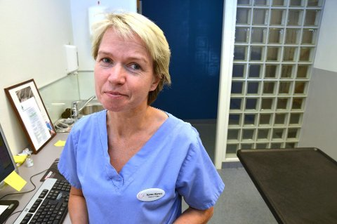 Veterinær Hanne Myrnes avviser at hundesykdommen som herjet Norge har kommet til Salten.