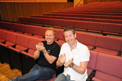 Program- og utviklingssjef i Stormen Rolf-Cato Raade og direktør for Nordland Musikkfestuke Andre Wallan Larsen fikk greit betalt for kulturåret 2018..