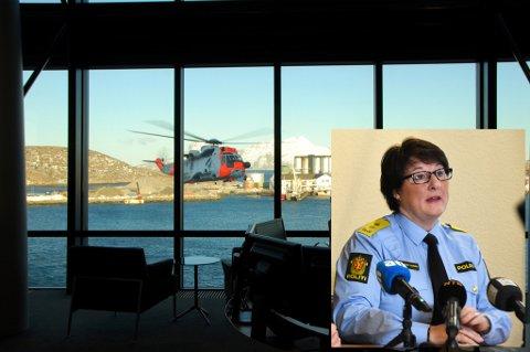 Mangel på personell settes  i direkte sammenheng med at de nye redningshelikoptrene er forsinket. Tone Vangen, som er politimester i Nordland, er bekymret.