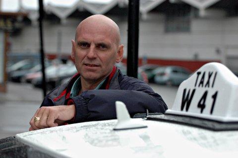 Jonny Sandmo, daglig leder Bodø taxi.