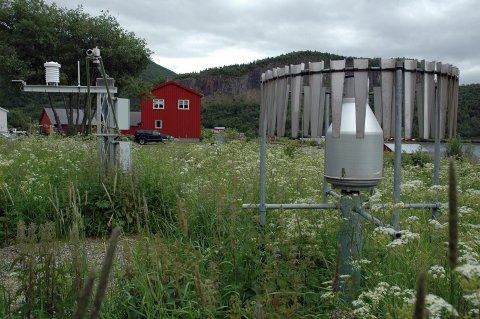 Værstasjonen på Setså er blant de varmeste i Nordland.