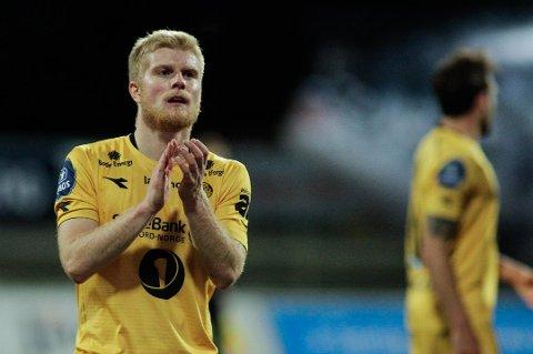 Emil Jonassen spilte tre sesonger for Bodø/Glimt.