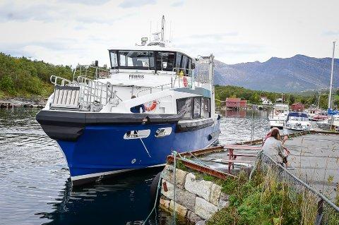 """Hurtigbåten """"Femris"""""""