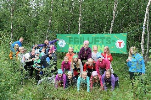 Friluftsrådene i Nordland tilbyr i sommer Friluftsskoler i nesten alle Nordlands kommuner