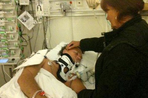 VAR DØD: Kristian Adolfsen berget livet etter at hjertet sluttet å slå.