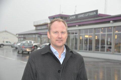 - Merkedag: Remi Solberg er leder i Lofotrådet og ordfører i Vestvågøy. Han mener anbefalingen er en merkedag for Lofoten. Foto: Arkiv