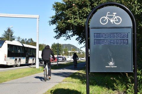 I juni heiv folk seg på sykkelen - etter en koronavår med lite sykling - viser telleren på Skeid.