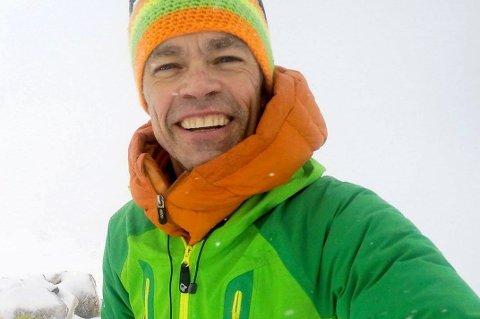 DRISTIG: Pål Jakobsen lover å gå en høydemeter på ski for hver krone han samler inn til TV-aksjonen.