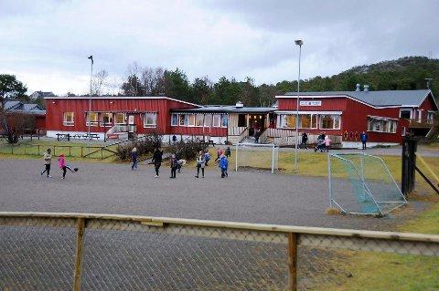 Færre elever: Elevtallet på Innhavet oppvekstsenter vil gå merkbart ned dersom skolen mister ungdomstrinnet sitt.