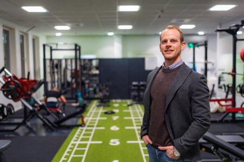 GRÜNDER: Mats Ola Martinsen (32) står bak Feel 24. Men i Bodø er Polargym konkurs.