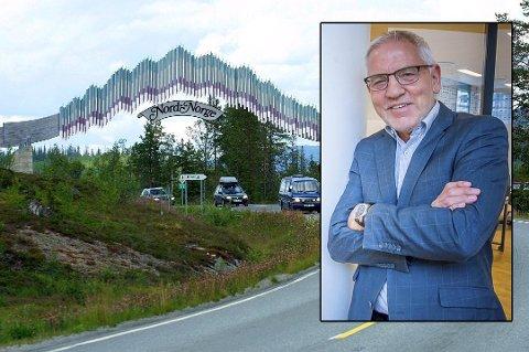 Leder ved Nordområdesenteret ved Handelshøgskolen Nord Universitet i Bodø, Frode Mellemvik, tenker at en utvidelse av tilbudet ved Porten til Nord-Norge slett ikke er en dum idé. Foto: Arkiv
