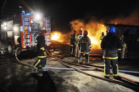 Beredskap: Flertallet av politikerne i kommunestyret, 12 av 17 representanter, går inn for en bedre  brannberedskap enn det Salten Brann har anbefalt.