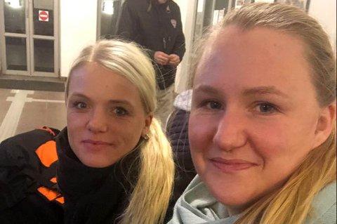 SNART HJEMME: Katrin Solhaug, Lotte Skrede Solhaug og resten av halsagjengen er snart hjemme igjen etter en strabasiøs ferd gjennom Sverige.