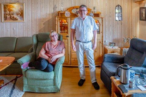 GÅR TREGT: Gunnlaug og Sverre Hugo Rokstad er ennå ikke helt ferdig med pensjonssaken de har stridd med i snart fire år.