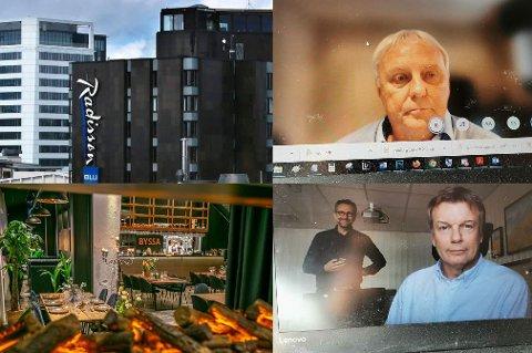 FLERE MØTER: De to toppsjefene i Bodø og Tromsø har spist middager og lunsjer på blant annet Maskinverkstedet i Tromsø og på Radisson Blu i Bodø.