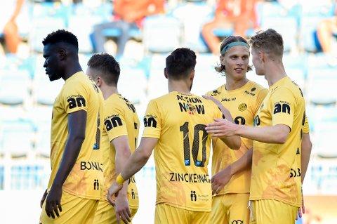 Kjetil Knutsen starter med samme lag for tredje kamp på rad for Glimt. Klokken 18.00 starter jakten på videre avansement i kvalifiseringen til gruppespillet i Europa League.