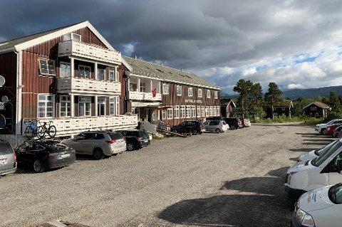 Saltfjellet Hotell Polarsirkelen.