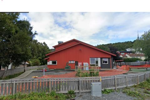 Scorer best: Læringsverkstedet avd. Nerenga er den eneste barnehagen i Bodø som får fem i score. Skjermdump: Google