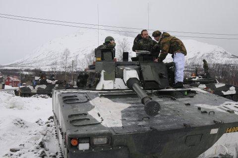 MER I NORD: Forsvaret øker innsatsen i Nord-Norge.