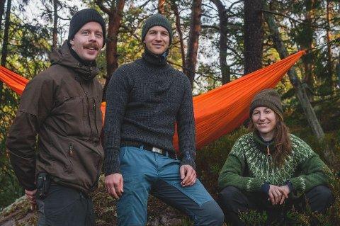 Frederik Hillestad (32), Hans Christian Berg (34) og Oda Ramsdal (26) har gått sammen om å gjøre noe positivt ut av koronapandemien og permitteringer. Nå har de startet egen bedrift.