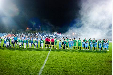 Lignende forhold vil trolig være å se når Glimt gjester Prishtina i Conference League-kvalik.