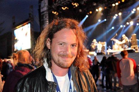 Osfest ble arrangert for første gang i fjor. Nå er festivalsjef Ole Reinert Berg-Olsen snart klar for en ny heftig helg i Os sentrum.