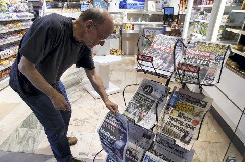 AVIS-KRISE: Norsk presse, og særleg papiravisene, er i si alvorlegaste krise nokon gong. Mange avisredaktørar veit                      ikkje si arme råd, og står makteslause når direktøren kjem med ei botnline som krev oppseiing av endå fleire redaksjonelle medarbeidar. Då kan content marketing bli det strået den druknande fåfengt strekkjer seg etter.ILLUSTRASJONSFOTO: NTB Scanpix