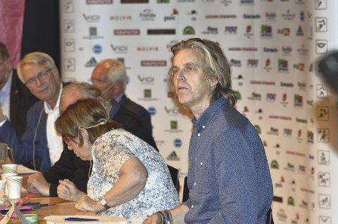 Tidligere fotballspiller Jan Åge Fjørtoft har lenge vært en forkjemper for én time fysisk aktivitet hver skoledag. Dette forslaget ble viet stor oppmerksomhet på torsdagens idrettspolitiske debatt. FOTO: SINDRE WIIK