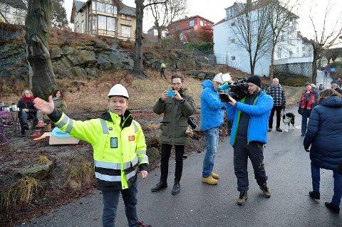 Det ble opptøyer, nærmest, da det nærmet seg byggestart for SIBs familieboliger i Jekteviken.