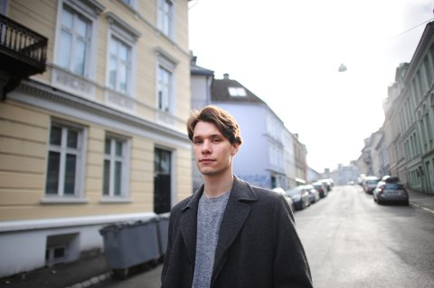 Raabe er fra Ålesund og har bodd i Bergen i litt over fire år. – Jeg føler at dette er hjemme nå, forteller han.