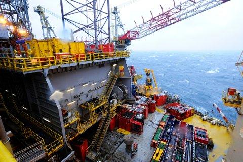Volve-feltet i Nordsjøen ble satt i porduksjon i 2007. FOTO: MARIT HOMMEDAL, NTB SCANPIX