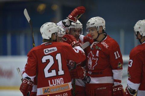 Bergen Hockeyimponerte stort og vant til slutt 8-3 mot Tønsberg.