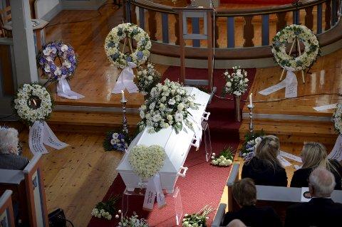 Lyder Martin Telle (57) mistet livet i helikopterulykken ved Turøy. Fredag tok familie, venner og kolleger farvel.
