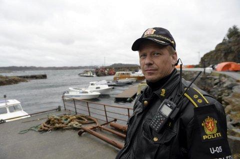 Politiets innsatsleder Ole Bjørn Sveen.