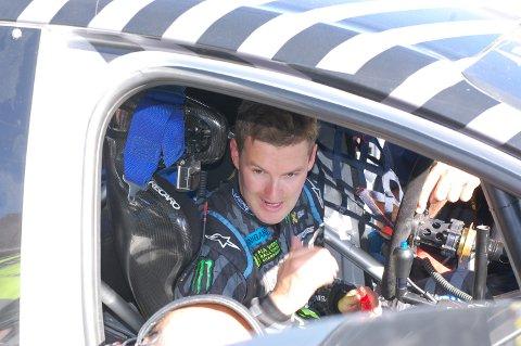 Andreas Bakkerud hadde beste tid i  kvalifiseringsomgangene.