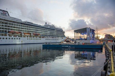 Cruisedåpen har utviklet seg til et mareritt for Trude Drevland og havnesjef Inge Tangerås. Politiet mener de bør siktes for henholdsvis grov korrupsjon og korrupsjon. ARKIVFOTO: VIDAR LANGELAND