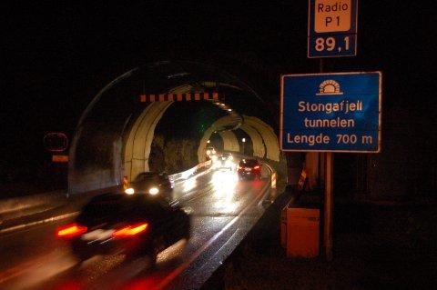 Stongafjelltunnelen på Askøy.