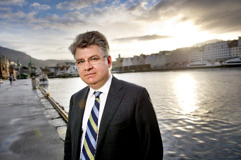 Skipsreder Bjørn Jebsen.