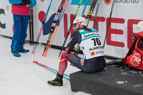 Lahti. 15 km klassisk menn. Martin Johnsrud Sundby.  Foto: Lise Åserud / NTB scanpix