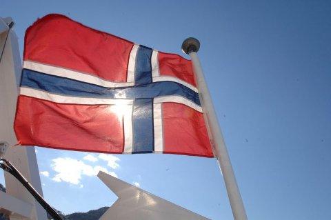 I dag flagges det for første gang på den internasjonale kvinnedagen.