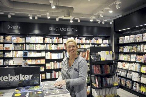 – Bergen fortjener definitivt en stor breddebokhandel, sier daglig leder av det nye store bokhuset i Strandgaten, Sylvia Gjervik.