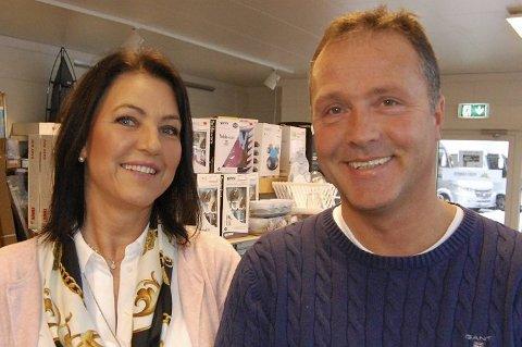 Hobbyen ble fulltidsjobb for Svein Ulvatn og konen Tove Ulvatn, som valgte å flytte virksomheten fra Manger til Åsane.