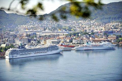 Havnen og kommunen ønsker å begrense antall cruiseskip som kommer på én dag. Ettersom anløpene ofte planlegges to år frem i tid, vil endringene stort sett gjelde fra 2020.