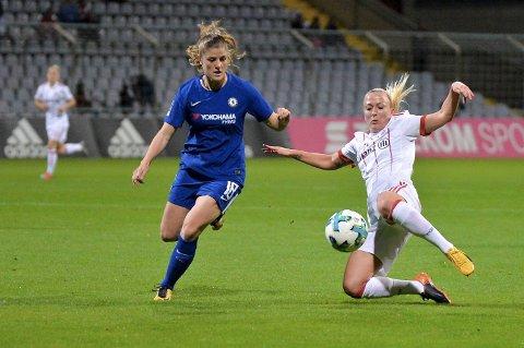 Maren Mjelde og Chelsea er ute av Mesterligaen etter 0-2-tapet mot Wolfsburg.