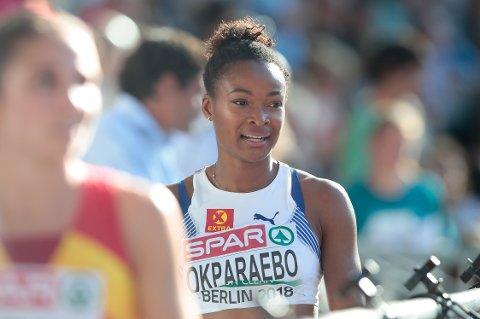 Ezinne Okparaebo fra Norna-Salhus tok seg videre til semifinale på 100 meter.