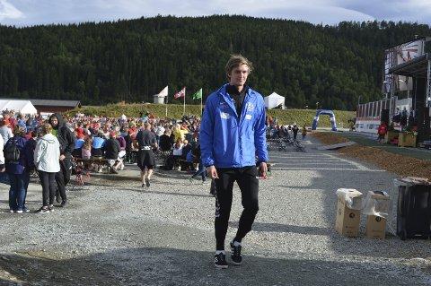 Mats Aadland Flatås (18) drømmer om å komme med på Kongelaget i fremtiden.
