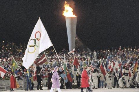 Hordaland idrettskrets vil hjelpe til i det videre arbeidet med å få OL til Norge og Vestlandet. Bildet er fra Lillehammer 1994.