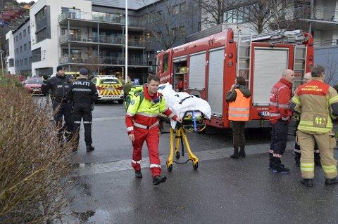 Alle de 120 beboerne på Fyllingsdalen sykehjem ble evakuerte.